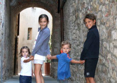 Quattro amici a Civi